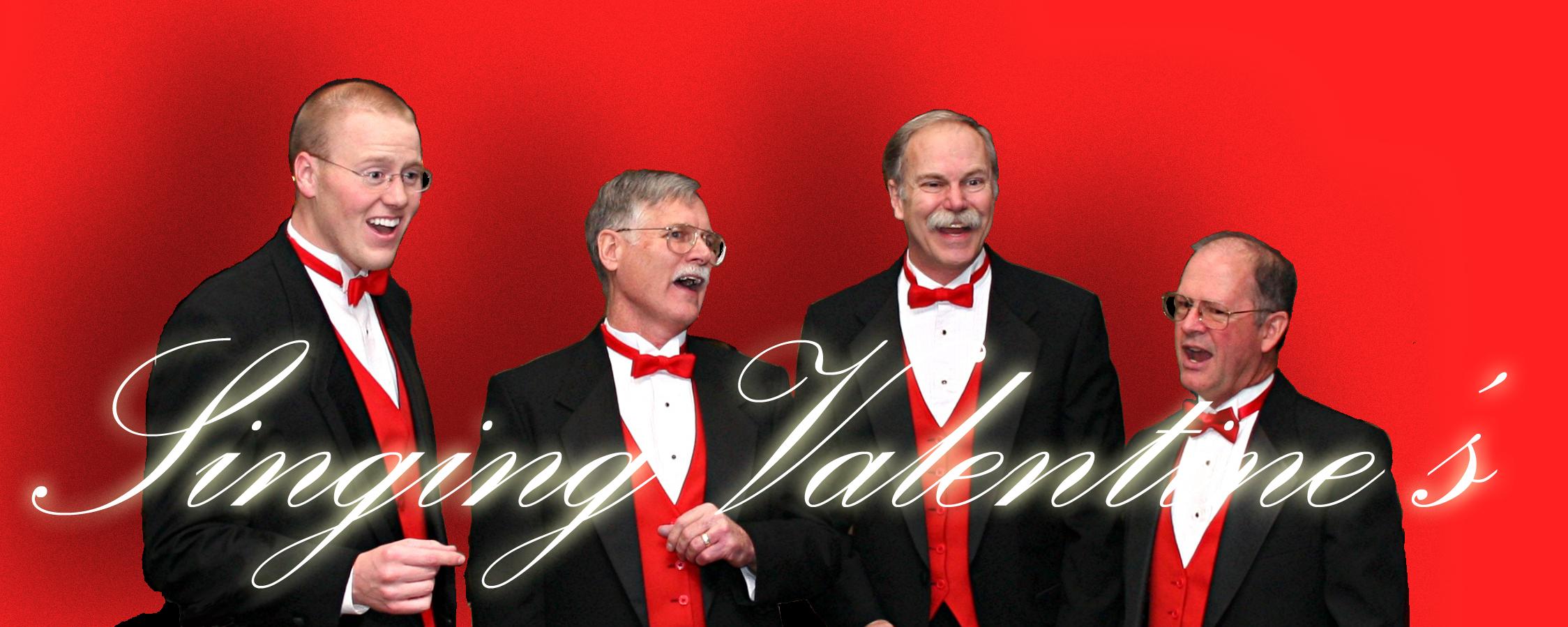 Barbershop Valentine Quartet